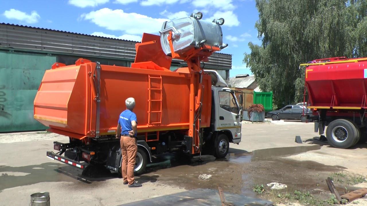 восстановление мусоровоза