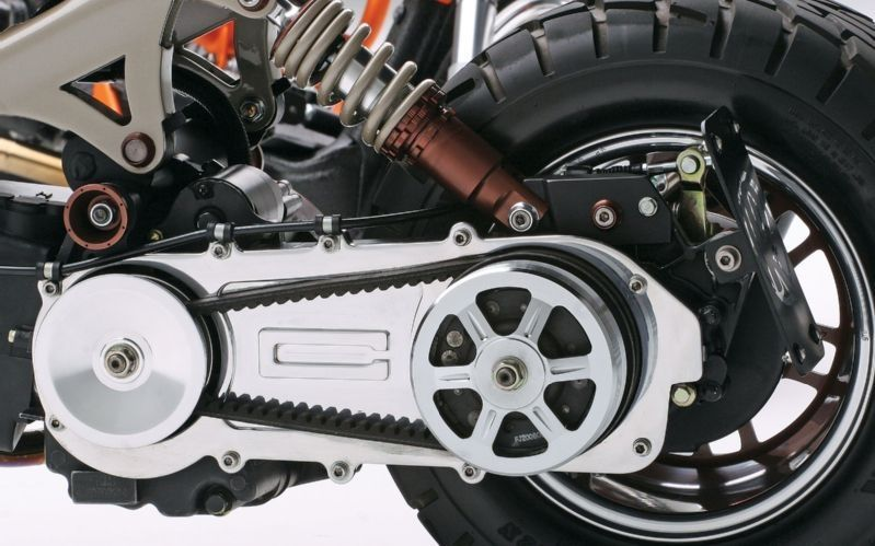 восстановление цепи скутера