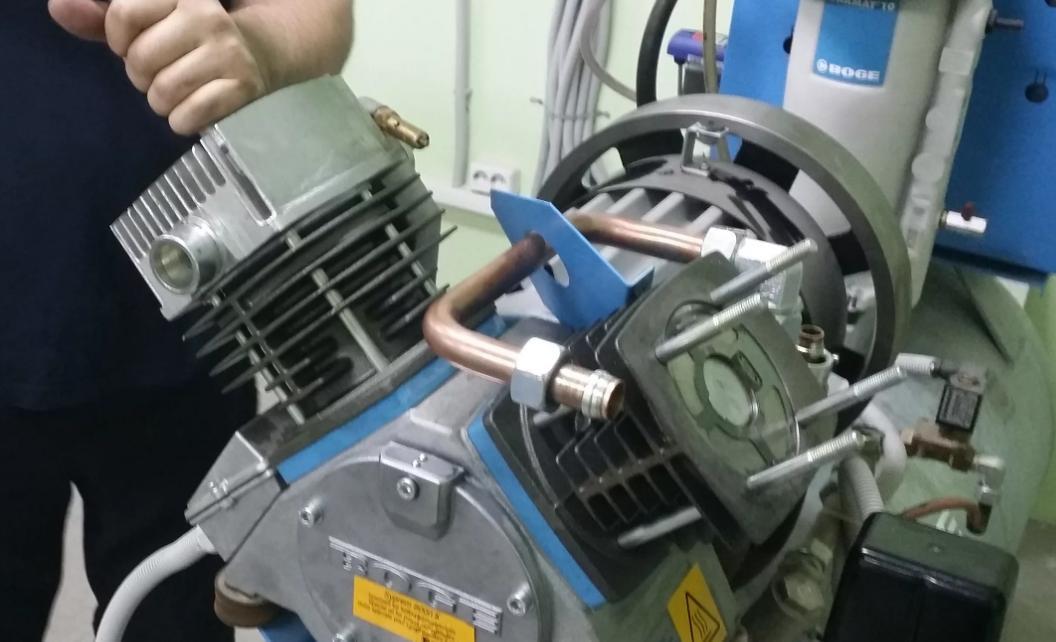 восстановление работы компрессора в Киеве