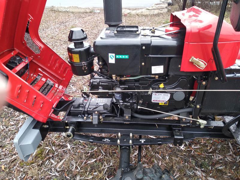 ремонт китайского трактора шифенг