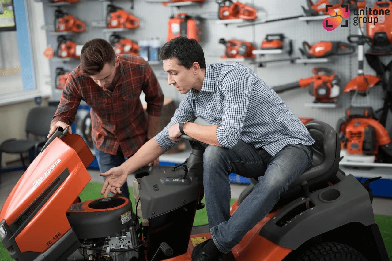 ремонт садовых тракторов, райдеров, тракторов-газонокосилок в Киеве