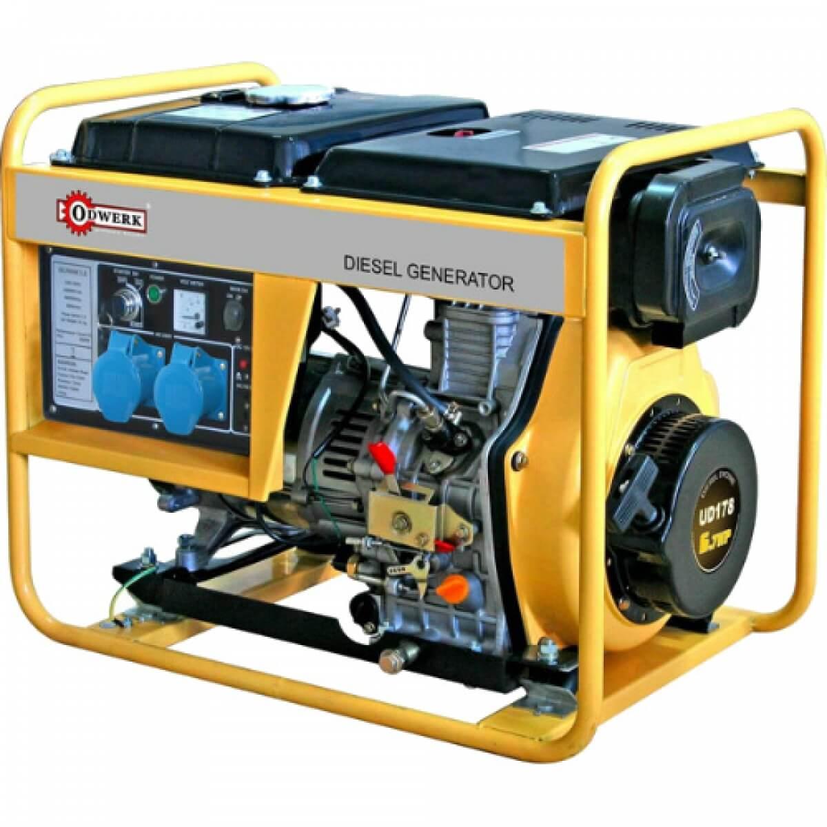 Сертификат на ремонт и обслуживание дизельного генератора (дизельгенератора)