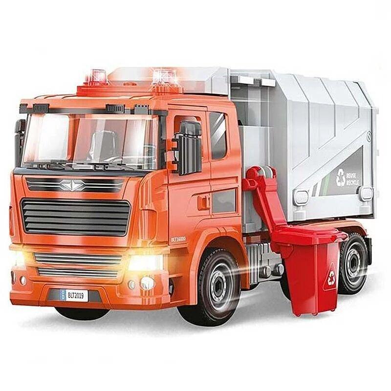 Сертификат на ремонт и обслуживание мусоровоза